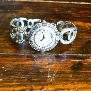 Brighton Stardust silver watch.